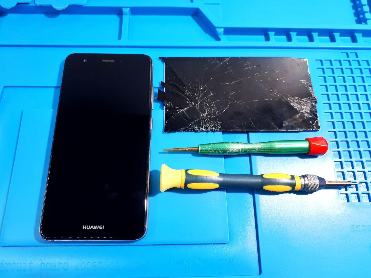 Замена экрана и стекла телефона